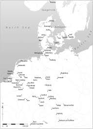 Map Of The Netherlands Maps Of Places Mentioned In The Text