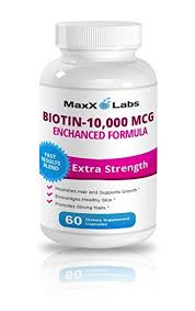 amazon com biotin 10 000mcg potent hair skin and nails vitamins