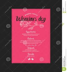 monthly dinner planner template dinner template dalarcon com menu template for valentine day dinner