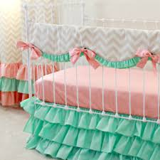 bumperless crib bedding for chic bumper free nurseries