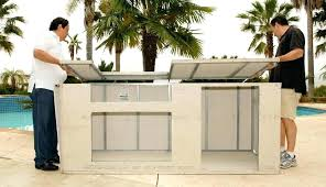 prefab outdoor kitchen grill islands prefab outdoor kitchen grill islands kitchen island with seating for