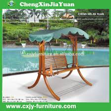 Wooden Garden Swing Chair Park Bench Swings Park Bench Swings Suppliers And Manufacturers