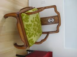 upholstering the seat of a chair with inexpensive fabric is fast