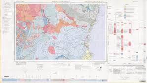 Map Letters Dorrigo Coffs Harbour 1 250 000 Geological Map Nsw Resources