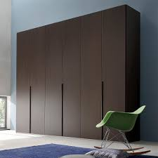 wardrobe wall by maronese modern interior bedroom design