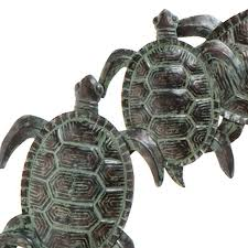 amazon com sei sea turtle wall art home u0026 kitchen