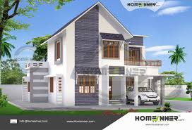 2 Stories House 4 Bedroom 2 Story House Plans Kerala Style