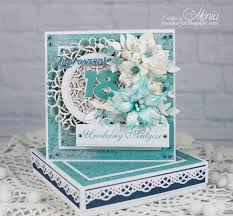 18 th birthday invitation with handmade flowers scrapbook com