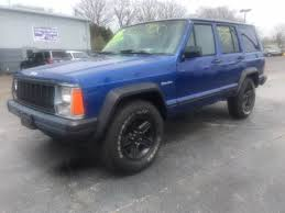 jeep gray blue 1995 jeep cherokee for sale carsforsale com