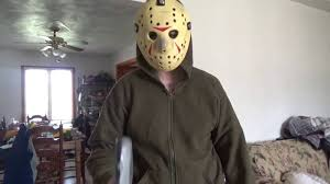 Jason Halloween Costume Jason Voorhees Costume Test Youtube
