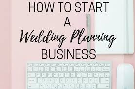 Starting A Wedding Planning Business Home Branding Our Life