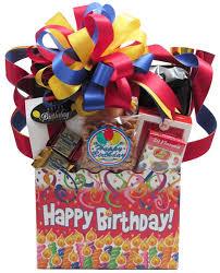 happy birthday gift baskets happy birthday candles
