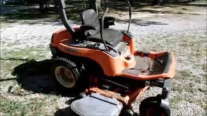 kubota zg23 left drive quick fix youtube