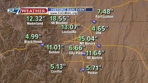 rainfall totals map rainfall totals for the 2013 colorado flood map