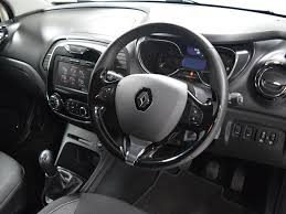 renault captur white interior nearly new renault for sale captur dci 90 dynamique s white