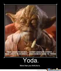 Funny Yoda Memes - yoda smokes by troll000 meme center