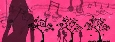 girly guitar wallpaper a large collection of all pink facebook cover photo downloads for