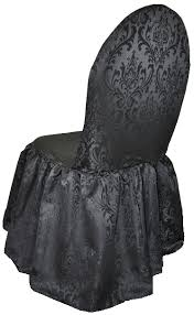 damask chair covers damask jacquard polyester skirt chair covers weddings