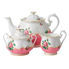 tea set cheeky pink 3 tea set royal albert us