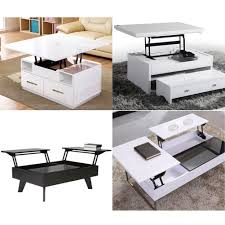 ootdty multi functional high tech lift up top coffee table lifting