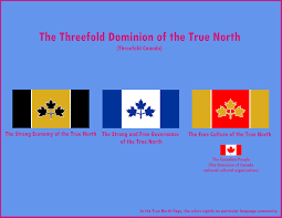 a name and flags for a threefold canada threefold now