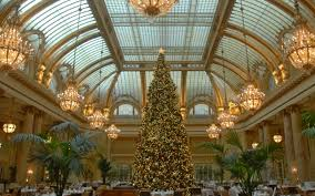 wallpaper palace hotel san francisco california usa christmas