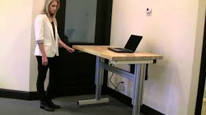 Electric Adjustable Height Desk by Electric Adjustable Height Desk Youtube