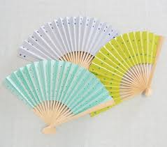 paper fans easy how to diy decorated paper fans for any occasion beau coup