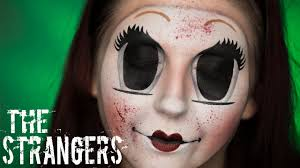 Creepy Doll Makeup Halloween by The Strangers U0027 Dollface Mask Creepy Doll Halloween Makeup