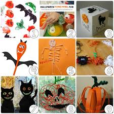 Unique Halloween Crafts - halloween decorations for kids