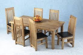 tortilla dining set six long back chairs amazon co uk kitchen u0026 home