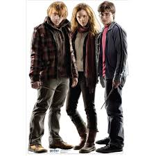 Harry Potter Hermione Potter Hermione And Ron Weasley Lifesized Standup