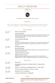 Chef Resume Samples by Terrific Pastry Chef Resume 58 On Resume Sample With Pastry Chef