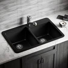 33 x 22 drop in kitchen sink mrdirect 33 x 22 double basin drop in kitchen sink reviews wayfair