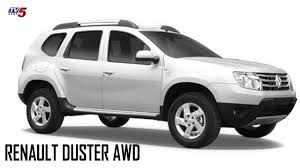 renault duster white renault duster awd test drive speedometer tv5 news youtube