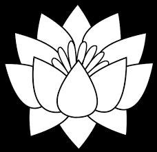 100 flower with petals template six petal flower template