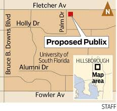 Usf Map Publix May Open At Usf Tampa By Fall 2017 Tbo Com