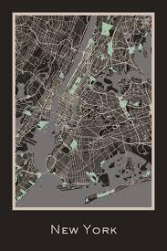 Hancock Ny Map 137 Best New York Wall Decor Images On Pinterest New York City