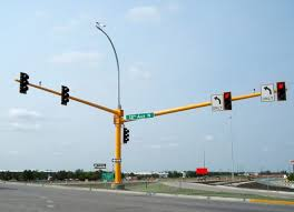 traffic and signal lighting poles