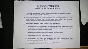 cara membuat ktp wna terjemahan dokumen untuk persyaratan perkawinan curan