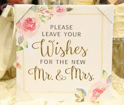 mr and mrs wedding signs watercolor wedding wishes sign i do boutique cypress tx
