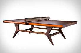 porsche design pool table with a clever name and striking angular form the mackenrow ping