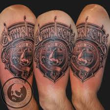lettering arm tattoos jordancampbellart armstrong shield armstrong family shield crest