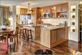 what color flooring goes best with oak cabinets kitchen color schemes gray with oak cabinets page 1 line