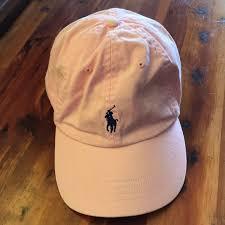 light pink polo baseball cap polo by ralph lauren accessories polo by ralph lauren light pink