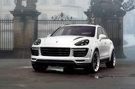 Porsche Cayenne 958 Body Kit - topcar shows off white porsche cayenne vantage 2015 kit