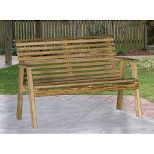 pressure treated pine rollback 4 foot bench