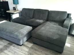 gray sectional with ottoman gray sectional with ottoman brown fabric sectional with ottoman