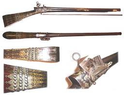 Ottoman Guns Ottoman Turkish Rifle Or Musket Ashoka Arts