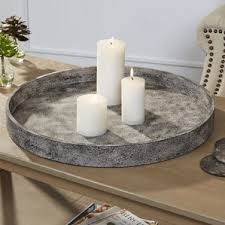 Round Trays For Coffee Tables - decorative trays you u0027ll love wayfair